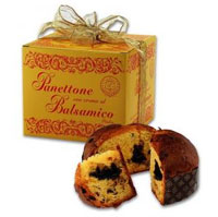 Panettone with Balsamic Cream