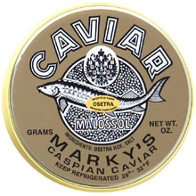 Marky's Osetra Caviar (7 oz. Tin and 14 oz. Tin)