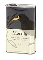Merula Extra Virgin Olive Oil: Tin (Spain)
