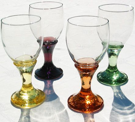 Fire & Light Glassware Goblets