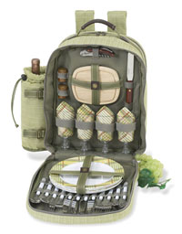 Picnic at Ascot Hamptons Backpack for Four