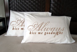 Faceplant Dreams - Always Kiss Me Goodnight Pillowcases